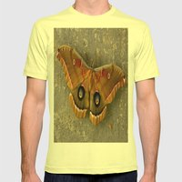 The Art of Nature Mens Fitted Tee Lemon SMALL