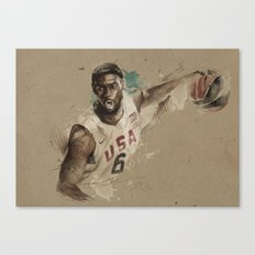 [Lebron James] Canvas Print