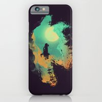 iPhone Cases featuring Leap of Faith by Budi Kwan