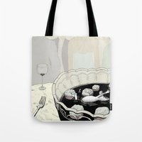 A Rat in a Punch Bowl Tote Bag