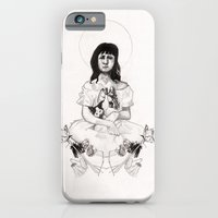 The Girl With Half A Lun… iPhone 6 Slim Case