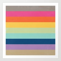 Summer Colors Art Print