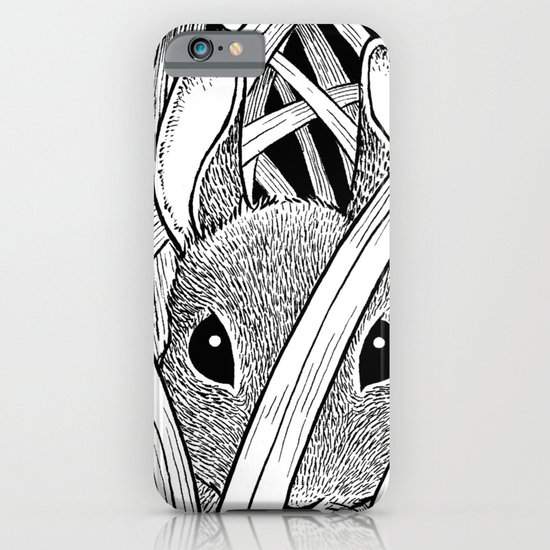 Bunny in the Grass iPhone & iPod Case