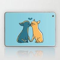 Chihuahua Kisses Laptop & iPad Skin
