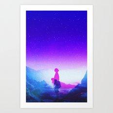 Wonder Never Cease Art Print