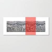 Four sides of a box (i) Canvas Print
