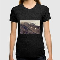 Rocky Mountain Hike Womens Fitted Tee Tri-Black SMALL