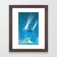 Legend of the Cat God Framed Art Print