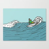 Surf Series | Roundhouse Canvas Print