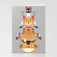 Studio Kitty Stationery Cards
