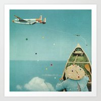 Air Communication Art Print