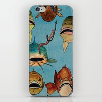 Fishing With Worms iPhone & iPod Skin