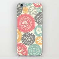 Candy Circles iPhone & iPod Skin