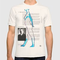 Carl Gustav Jung – Nud… Mens Fitted Tee Natural SMALL