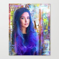 Blue of you  Canvas Print
