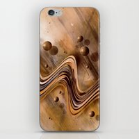 Chocolate Waves iPhone & iPod Skin