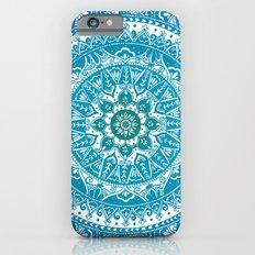Aquamarine Mandala Pattern Slim Case iPhone 6s