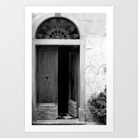 Come On In Art Print
