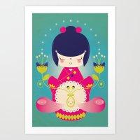 Nacer / Born Art Print
