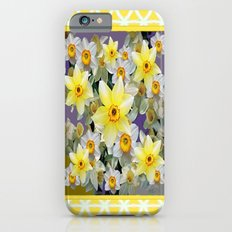 Decorative  Daffodils Spring Flower Garden Yellow Art Slim Case iPhone 6s