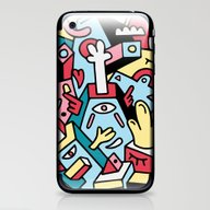 iPhone & iPod Skin featuring ToTem by Mister Phil