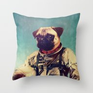 Throw Pillow featuring A Point To Prove by Rubbishmonkey