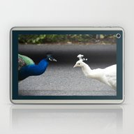 Mirror Image In Blue And… Laptop & iPad Skin