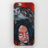 Whoa, Owl! iPhone & iPod Skin