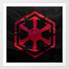 Star Wars Sith Empire Art Print