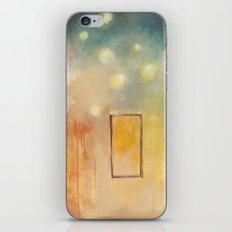 bird and open window iPhone & iPod Skin