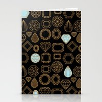 Gems #3 Stationery Cards
