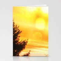Lemon Sky Stationery Cards