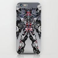 iPhone Cases featuring Mecha by Michael Lenehan