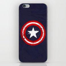 Captain's America splash iPhone & iPod Skin