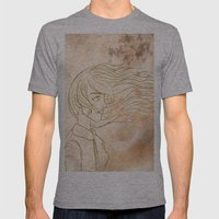 WINDS OF CHANGE. Mens Fitted Tee Athletic Grey SMALL