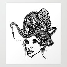 Swallowed Art Print