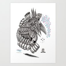 Fright 2 Art Print