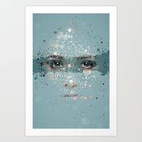 your eyes Art Print