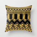 Aztec Egypt Throw Pillow