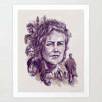 Carol Art Print