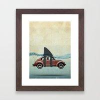 VW soup Framed Art Print