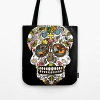 El dia de los muertos (Skull) Tote Bag