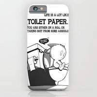 Life is a lot like toilet paper... iPhone 6 Slim Case