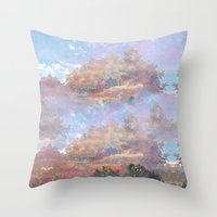 Beyond The Forest Throw Pillow