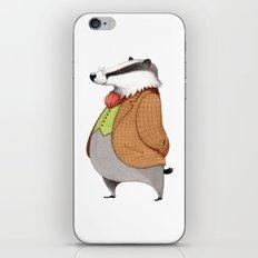 Mr. Badger iPhone & iPod Skin