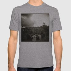{ festival } Mens Fitted Tee Athletic Grey SMALL