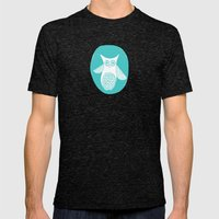 Hoot 2 Mens Fitted Tee Tri-Black SMALL