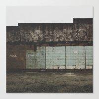 Full/Empty Canvas Print