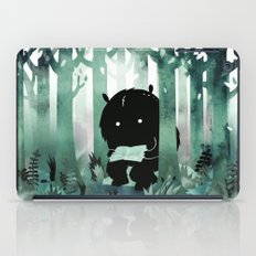 A Quiet Spot (in green) iPad Case