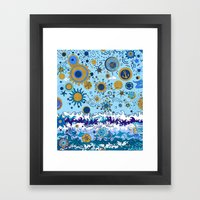 Sun & Sea Framed Art Print